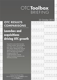 Launches and acquisitions driving OTC growth