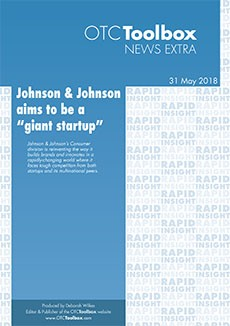 "Johnson & Johnson aims to be a ""giant startup"""