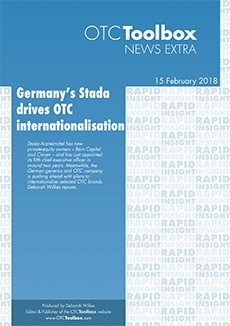 Germany's Stada drives OTC internationalisation