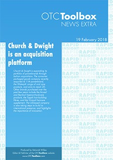 Church & Dwight is an acquisition platform