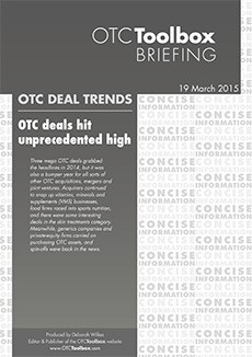 OTC deals hit unprecedented high