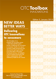 Delivering OTC innovations to consumers