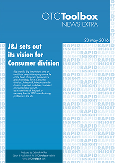 J&J sets out its vision for Consumer division