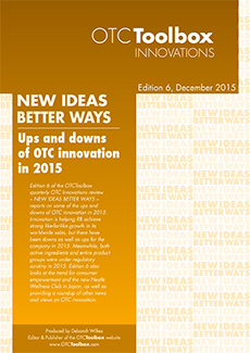 Ups and downs of OTC innovation in 2015