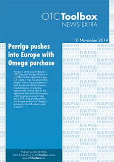 Perrigo pushes into Europe with Omega deal