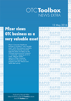 Pfizer views OTC business as very valuable asset