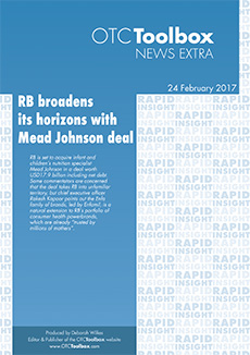 RB broadens horizons with Mead Johnson deal