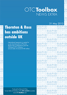 Thornton & Ross has ambitions outside UK